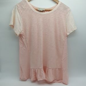 Anthropology/Saturday Sunday Light Pink T Shirt